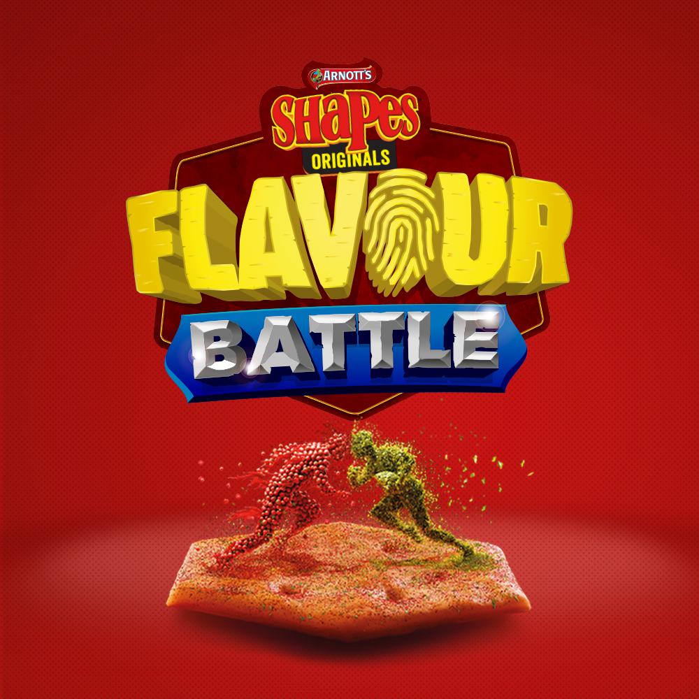 Arnotts Shapes Flavour Battle